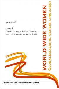 Copertina E-book World Wide Women: Globalizzazione, Generi, Linguaggi — Vol. 3