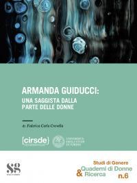 Book Cover Armanda Guiducci: una saggista dalla parte delle donne